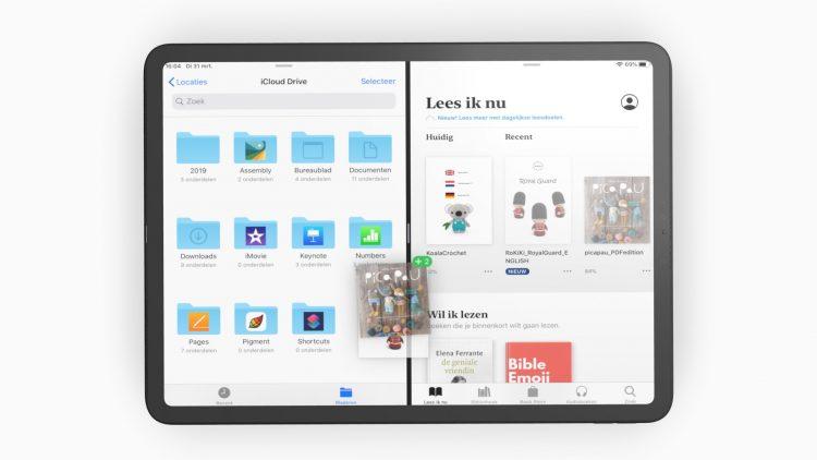 opslaan iPad