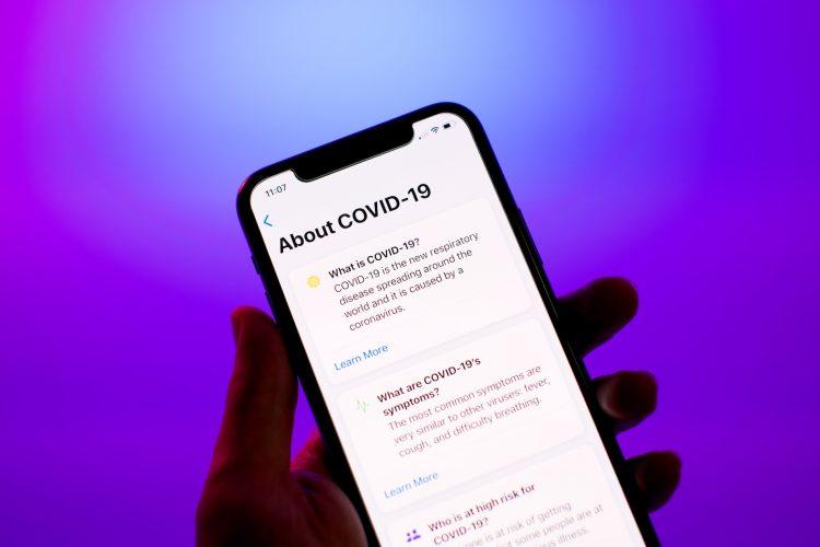 Corona traceren iOS 13.5