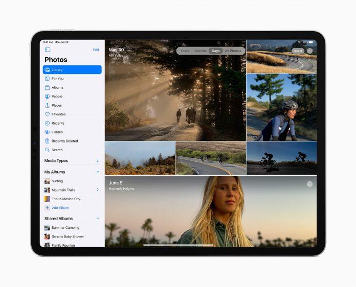 iPadOS 14 foto's