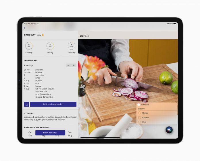 iPadOS Siri