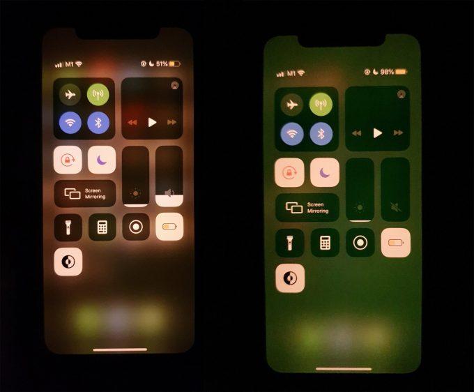 iPhone 11 groen scherm