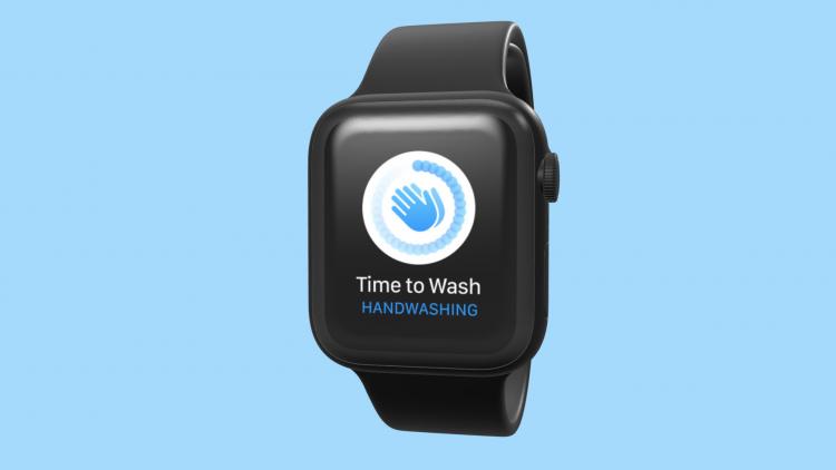 watchOS 7 handen wassen