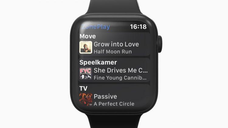 Sonos Apple Watch ZonePlay
