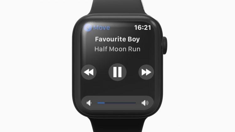 Sonos Apple Watch bedienen