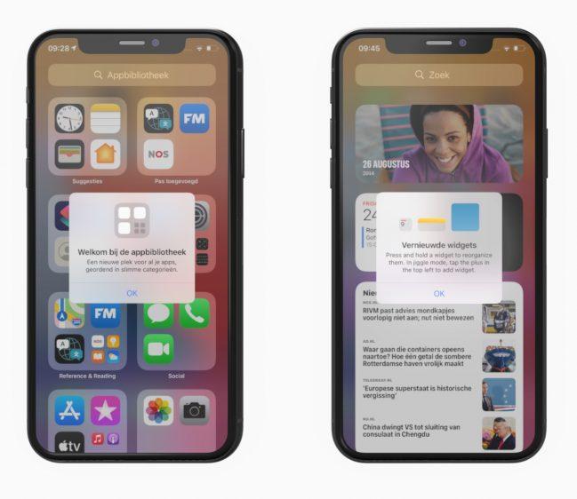 iOS 14 uitleg
