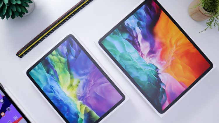 iPad Pro 2020 in verpakking