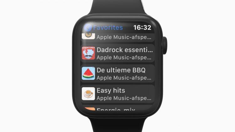 Sonos Apple Watch muziek