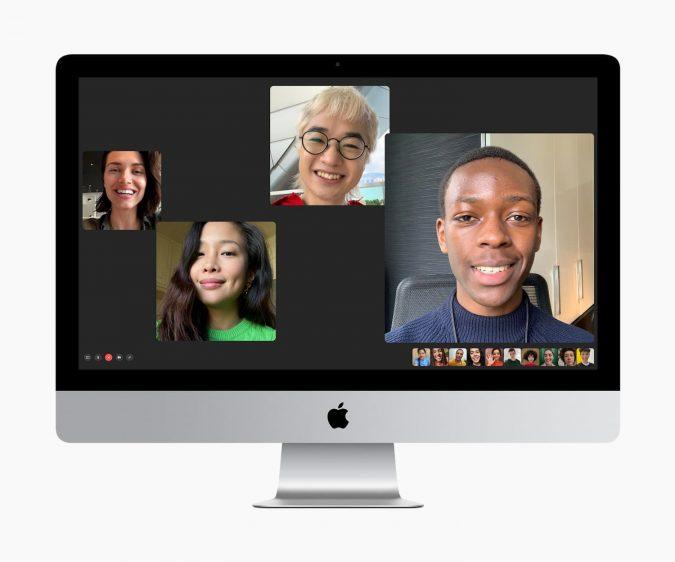 iMac 2020 met FaceTime
