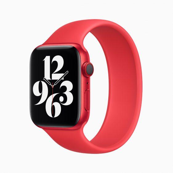 Apple Watch met solobandje