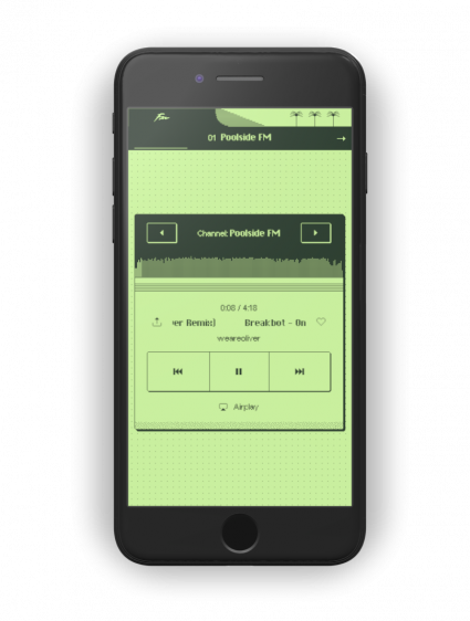 Zwembadzijde FM iOS