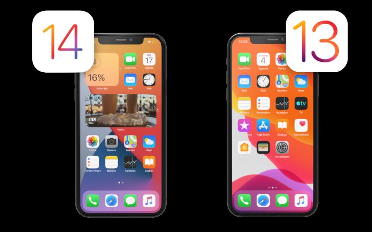 terug naar iOS 13
