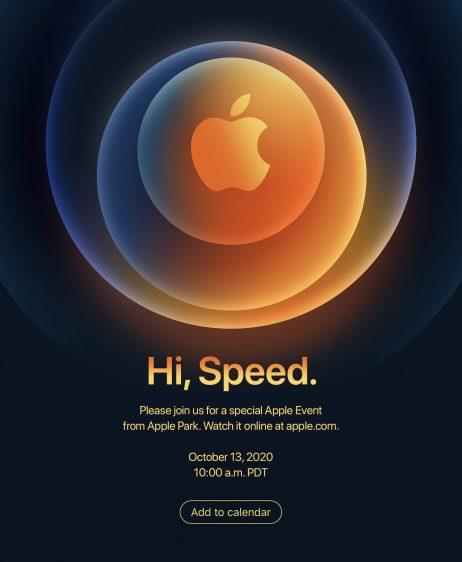Apple event oktober 2020