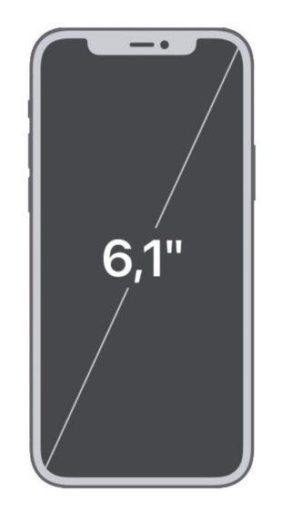 iPhone 12 schermdiagonaal