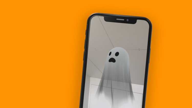 Spook 3D iphone