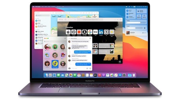 macOS Big Sur op MacBook Pro