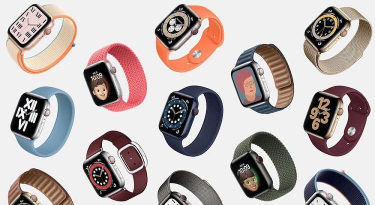 Apple Watch modellen