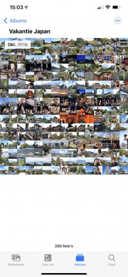 Foto's iOS 14 uitzoomen