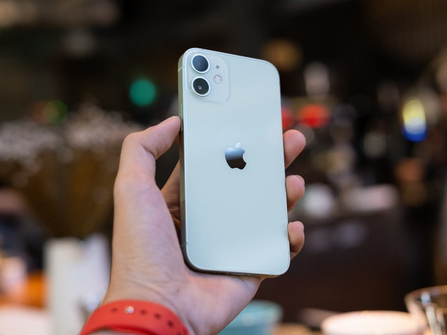 iPhone 12 mini groen