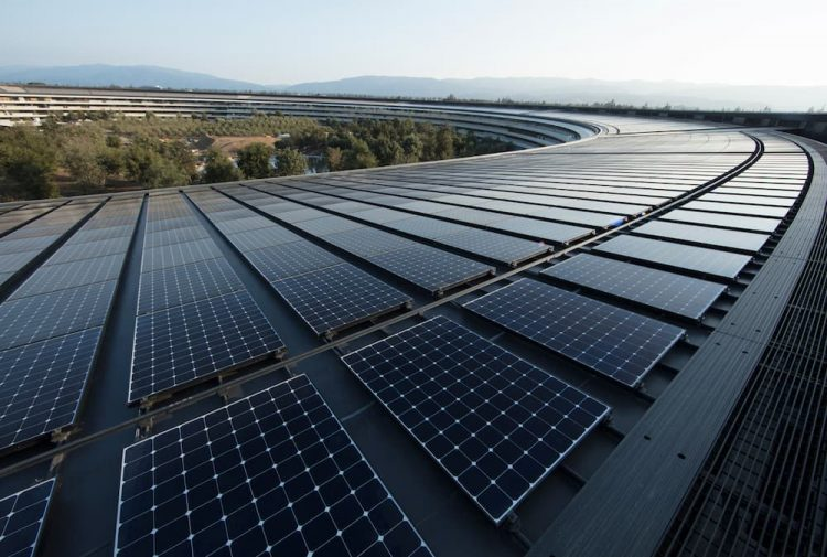 Apple Park Zonnepanelen