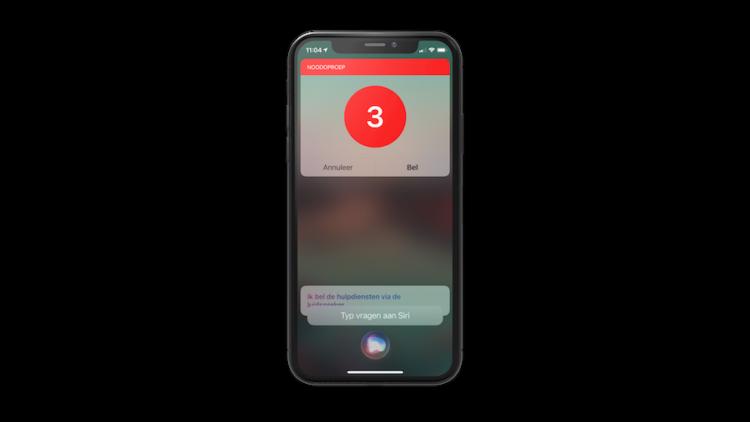 Siri noodoproep iOS 14.5
