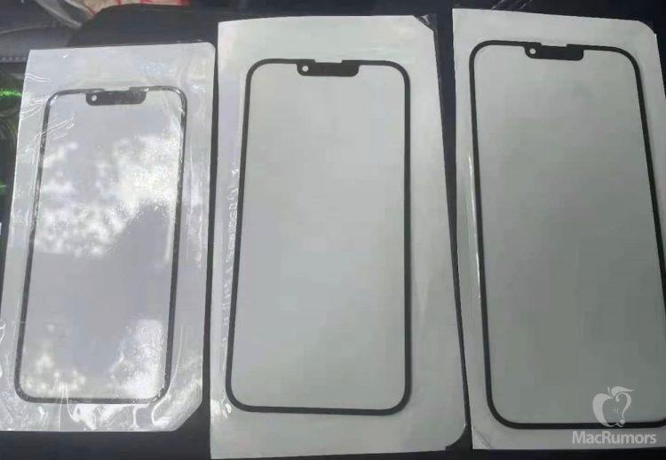 iPhone 13 notch foto