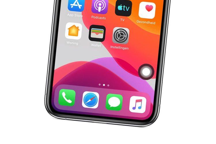 iPhone virtuele thuisknop