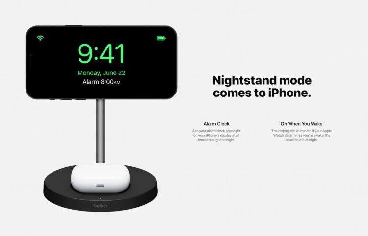 Nachtklokmodus iPhone