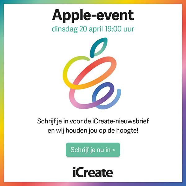 Apple-event liveblog: volg hier de ontwikkelingen - iCreate