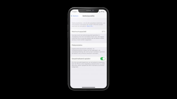 iPhone batterijconditie controleren