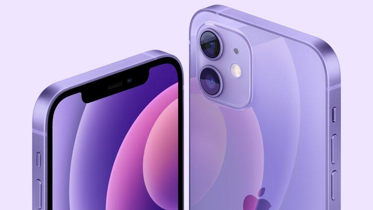 paarse iPhone 12 kopen