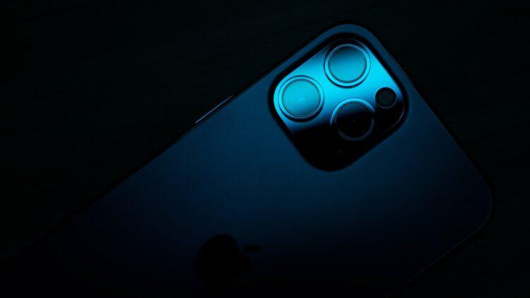 iPhone 13 met sensorverschuiving