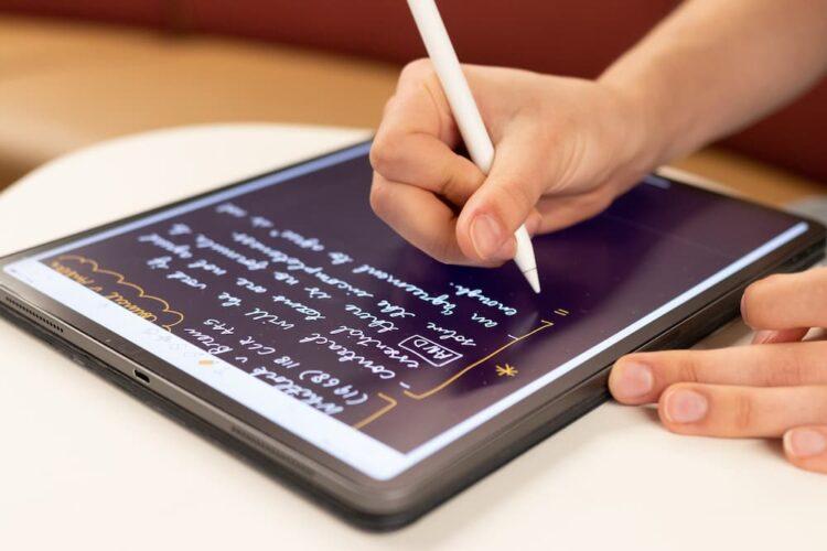 Paperlike schrijven op ipad
