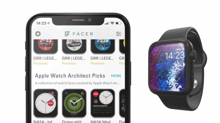Apple Watch externe wijzerplaat