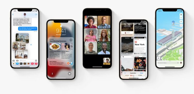 iOS 15 ondersteuning iPhones