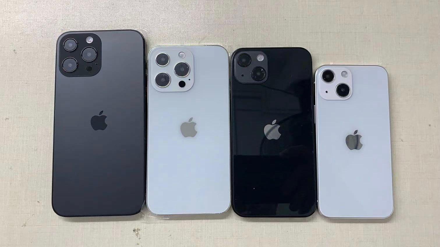 iPhone 13 formaat van groot naar klein