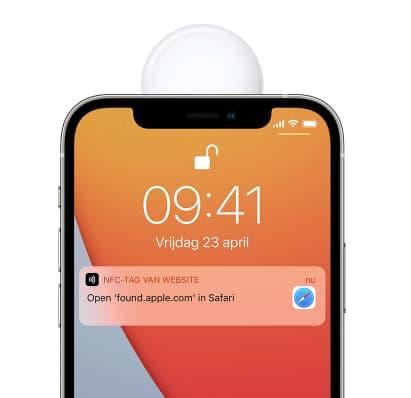 AirTag NFC scannen