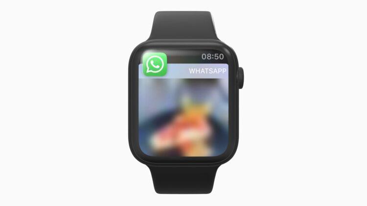 apple watch whatsapp foto wazig