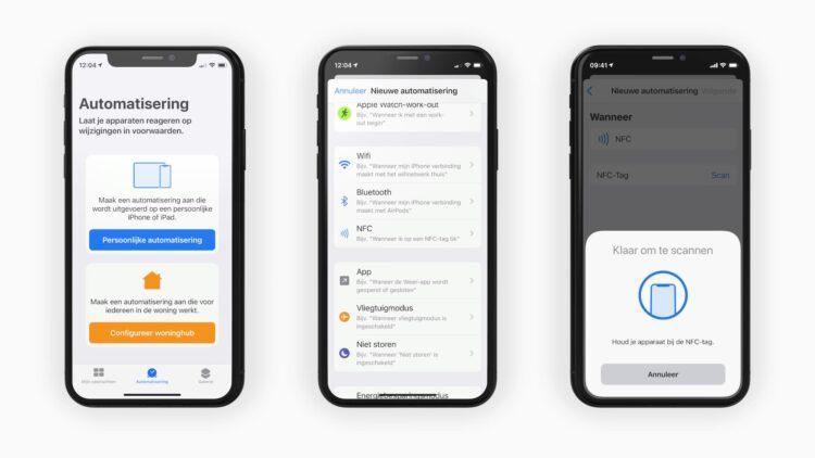 NFC Automatisering in opdrachten