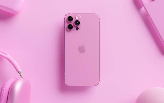 Roze iPhone 13 pink