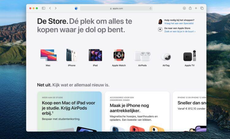 Apple Store Online vernieuwd