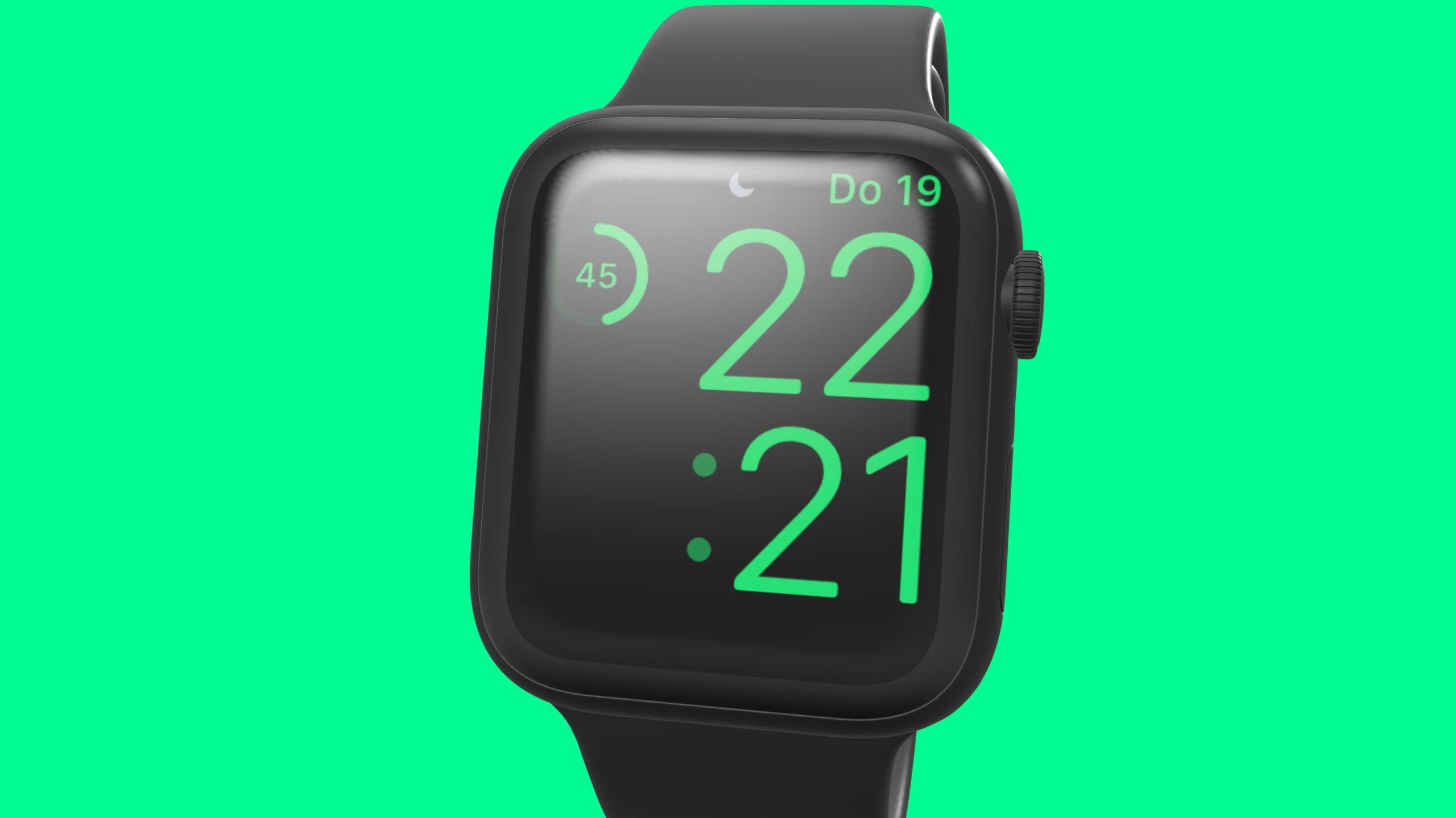 Apple Watch batterij status