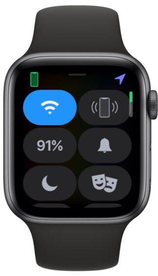 Apple Watch Bedieningspaneel