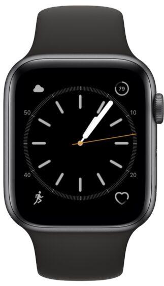 Apple Watch wijzerplaat accu