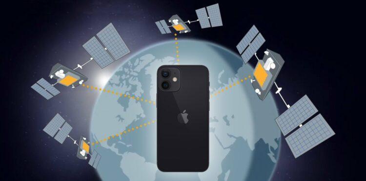 iPhone satelliet