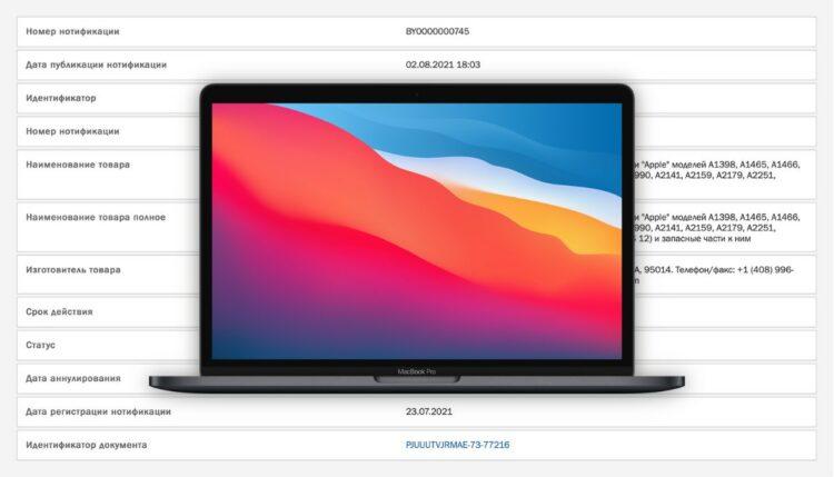 MacBook Pro 2021 release