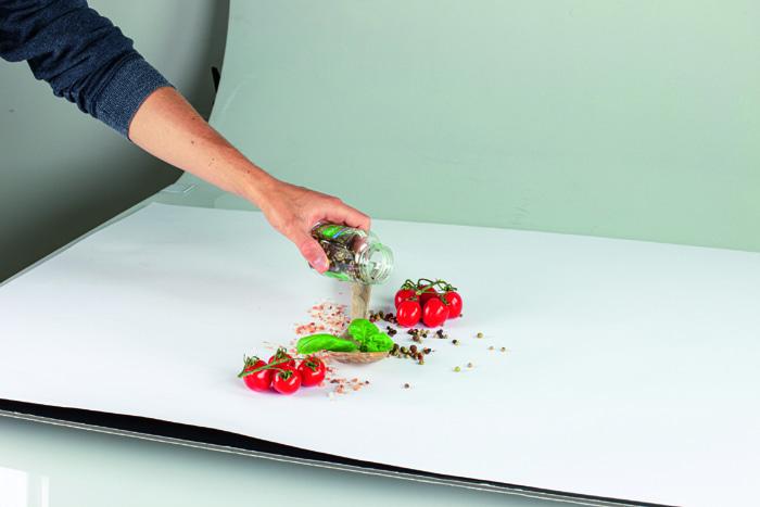 foodfoto iphone voorbereiding en compositie