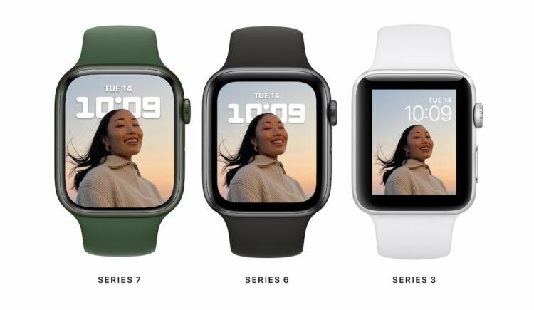 Apple Watch Series 7 lancering