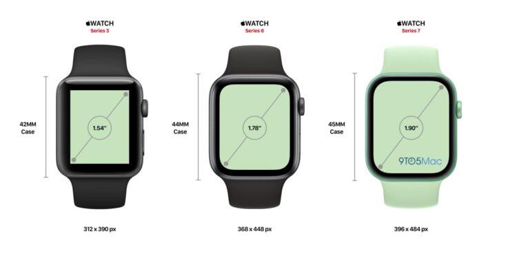 Apple Watch Series 7 scherm 2