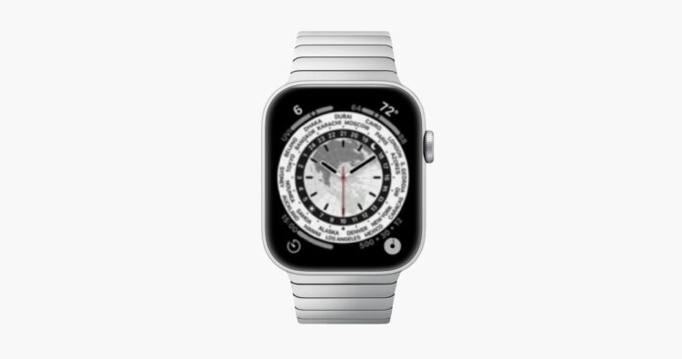 Apple Watch Series 7 scherm
