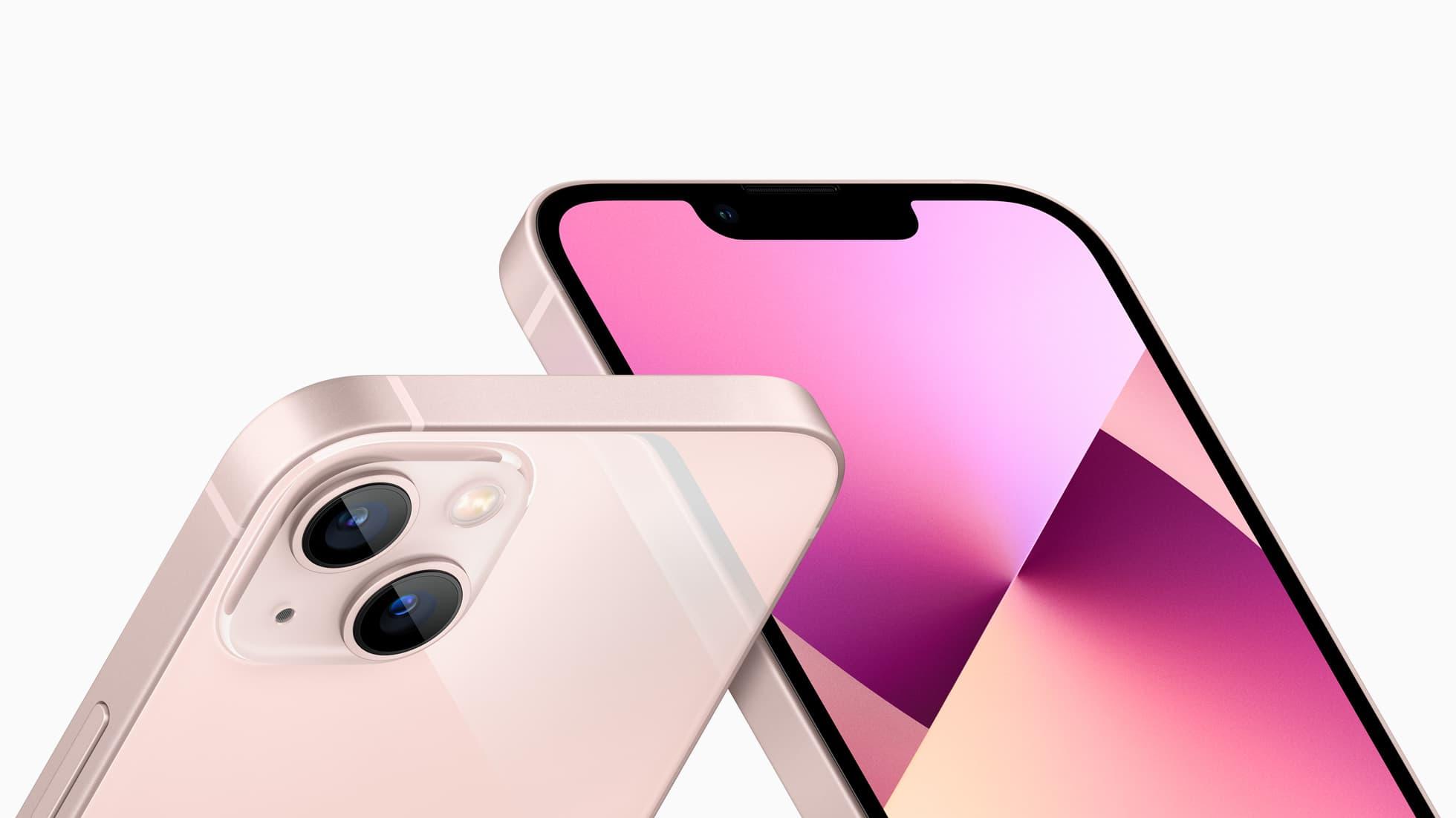 iPhone 13 roze